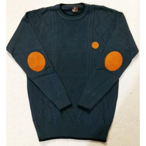 Vékony gépi kötött, férfi pulóver  M-L