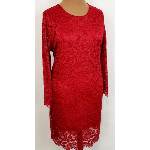 Nagyméretű alkalmi csipke ruha 2XL/4XL