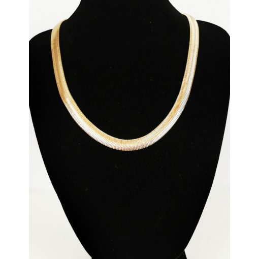 Arany színű nyakék, 45 cm-es hosszall